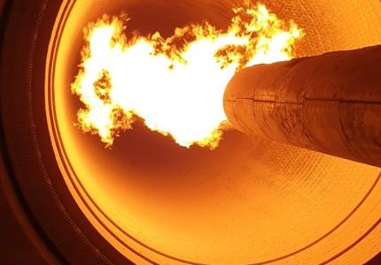 Marmara Çimento Fabrikası Fırınının ilk ateşlemesi yapılmıştır.